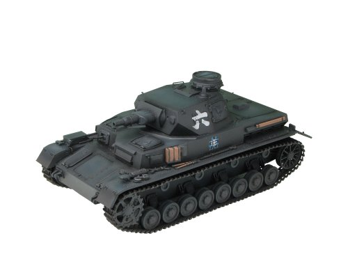 Platz Pz.Kpfw. IV Ausf. D Ankou-San Team Version from Anime TV Series of Girls und Panzer Kit, 1:35 Scale