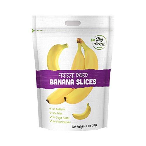 Big Green Organic Food- Freeze-Dried Banana, Healthy Snacks, Natural Flavor (3)