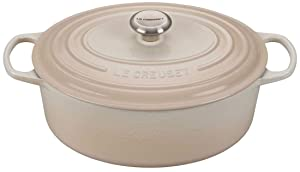 Signature Oval Dutch Oven - Meringue