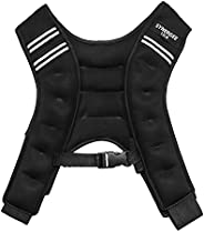 Synergee Weighted Vest Infinity Vest Workout Equipment - Body Cardio Walking or Running Vest - 4lbs, 6lbs, 12l