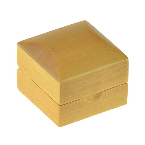 Geff House Maple Wood Ring Jewelry Gift Box by Geff House (Image #2)