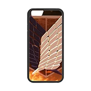 Attack On Titan for iPhone 6 Plus 5.5 Inch Cell Phone Case & Custom Phone Case Cover R13A651369