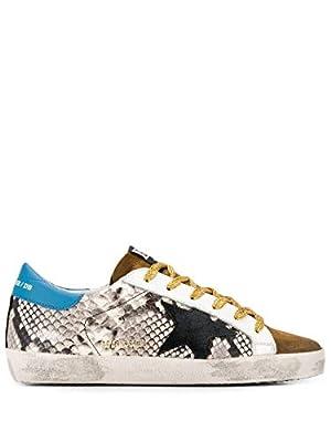 Golden Goose Luxury Fashion Womens G35WS590R77 Beige Sneakers   Fall Winter 19