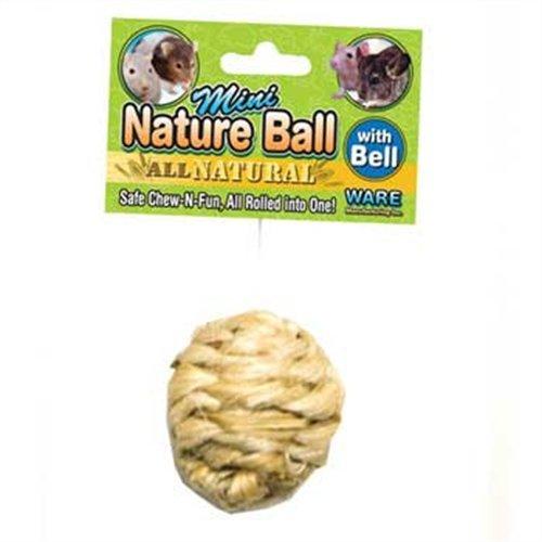 Ware Manufacturing Sisal All Natural Nature Pet Chew Ball, Mini