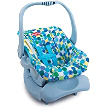Doll Toy Car Seat - Blue Dot