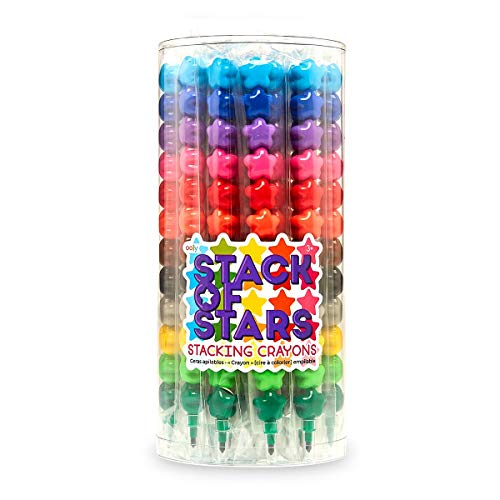OOLY, Stack of Stars, Stacking Crayons