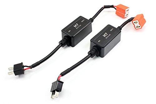 AFTERPARTZ® 2 Pack LED Scheinwerfer Canbus Decoder für H7