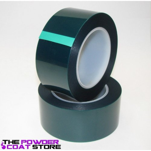 2 Inch High Temperature Polyester Green Masking Tape