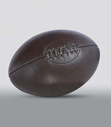 Ballon de Rugby - Chocolat, sans socle ALL SPORT VINTAGE