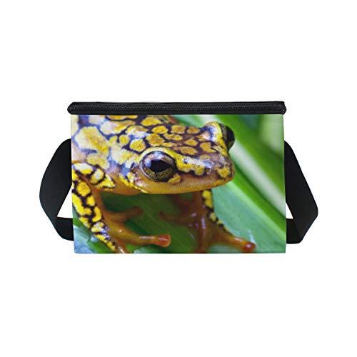 déjeuner refroidisseur lunch Sac Harlequin nique Boîte à Dart pour Poison Frog à Bandoulière pique 5ZwaqYOw