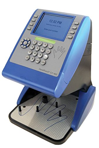 Ingersoll Rand - Schlage Biometric HandPunch GT 400 Employee Payroll Time Clock Exclusively Sold by Time Masters by Schlage Lock Company