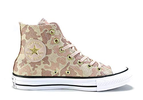 Particle Converse Womens 10 Top Hi Taylor Brown Chuck Star Sneakers cameo Beige All YUYrB