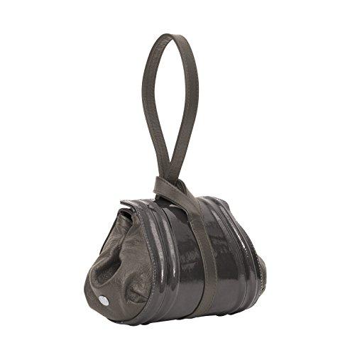 Gray Mini Stone Gretchen Pouch Patent Tango SYqnT4I
