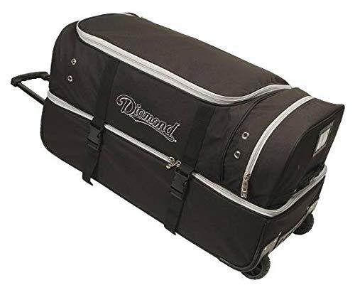 Diamond Sports Umpire Gear Bag with Wheels, 30-Inch -