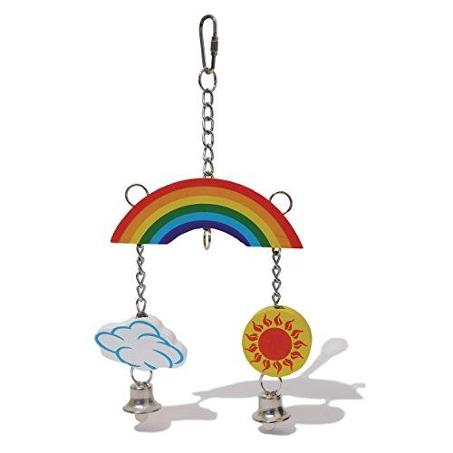 Nibble Stix & Woodies Woodies Rainbow Mobile