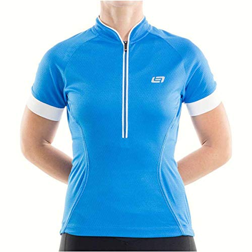 - Bellwether 2017 Women's Flair Short Sleeve Cycling Jersey - 61146 (Cyan - XL)