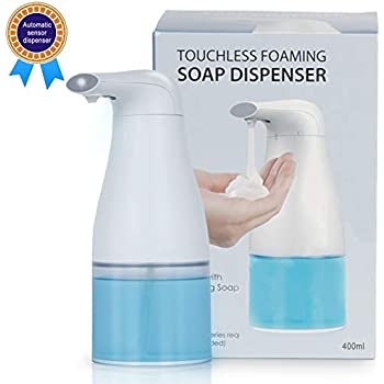 Back To Search Resultshome Improvement Bathroom Fixtures Automatic Foam Soap Dispenser Battery Operated Soap Dispenser Home Kitchen Bathroom Mute Infrared Induction Soap Storage Bottle