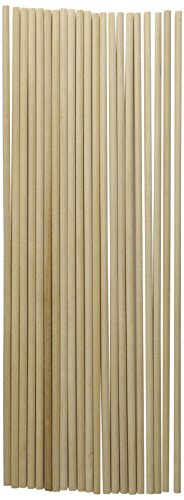 "Price comparison product image Loew-Cornell 1021173 Woodsies Dowels 12""-3 / 16"" 20 / Pkg"