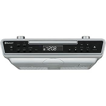 Amazon.com: Sony ICFCDK50 Under Cabinet Kitchen CD Clock Radio: Home ...