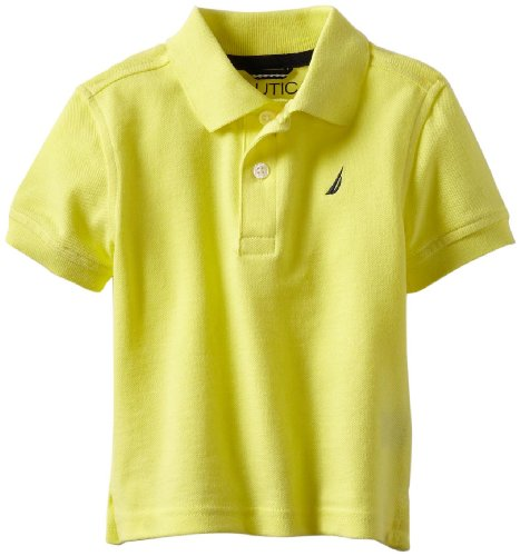 cc5a006ec Nautica Sportswear Kids Baby Boys' Short Sleeve Solid Polo, Vitamin C, 18  Months - Buy Online in Oman. | Apparel Products in Oman - See Prices, ...