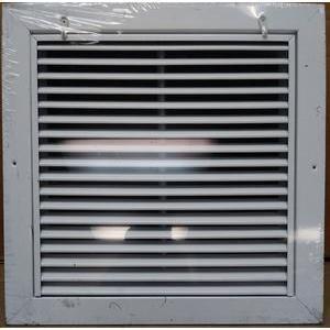 """グリルTech Inc raffs121212"""" x 12"""" Aluminum Returnエアフィルタグリル、ホワイト、Includesフィルタ"""