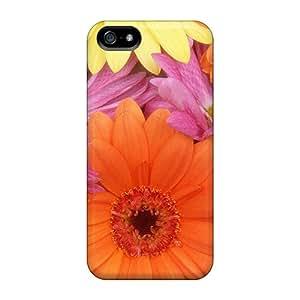 Unique Design Iphone 5/5s Durable Tpu Case Cover Fresh Daisies