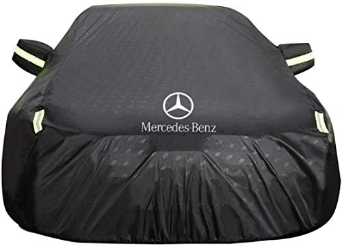 Car Cover Mercedes-Benz E-Class 2-door Coupe Car Cover Special Car Tarpaulin Car Cover Rainproof Sunscreen Thickening Insulation Car Cover (Color : BLACK)