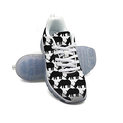 FAAERD Rhino Silhouette Women's Breathable Mesh Air Cushion Casual Fashion Sneakers cheap sale ebay outlet store locations shop offer sale online discount best place pay with visa online WNqXxkNk