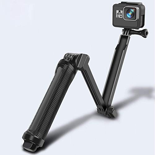 DEVICE OF URBAN INFOTECH 3 Way Monopod Mount Tripod for GoPro Hero 1 2 3 3+ 4 go pro SJ4000 Way All Action Cameras Accessories – Floatable and Foldable Selfie Stick Stabilizer Adjustable Angle(Black)