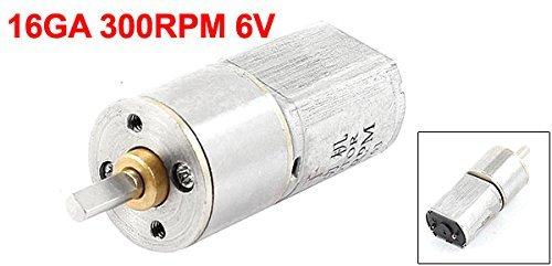 300rpm 6V couple élevé Cylindre magnétique Mini DC Boîte de vitesses Moteur