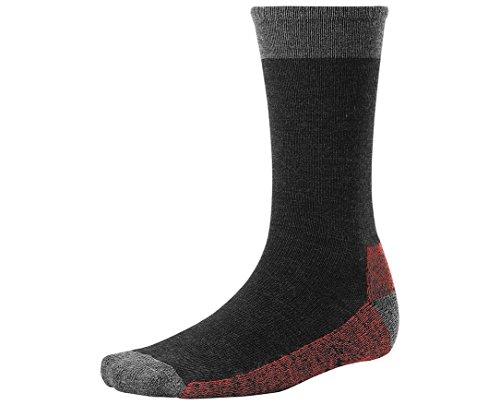 Men's Hiker Street Socks (Charcoal Heather) Medium (Smartwool Crew Long Underwear)