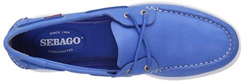 Deux Chaussures Bateau En Cuir Bleu Oeil De Sebago Hommes