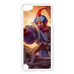 ipod 5 phone case White League of Legends Gangplank IUY2071786