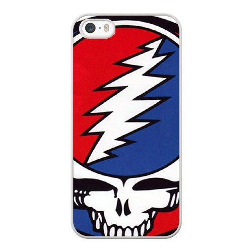 Coque,Coque iphone 5 5S SE Case Coque, The Grateful Dead Steal Your Face! Cover For Coque iphone 5 5S SE Cell Phone Case Cover blanc