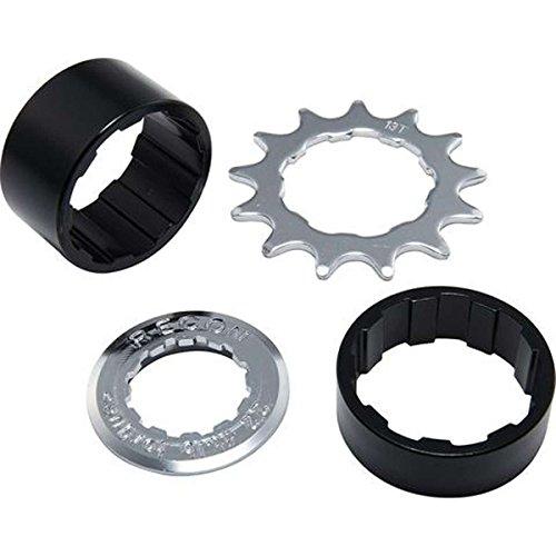 (Spank Spoon Hub Single Speed Conversion Kit Cycling Equipment, Silver & Black)