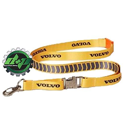 (Diesel Power Plus Volvo Trucks Yellow Lanyard Key Holder Chain Badge id Card Office Work Shop)