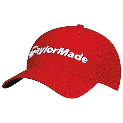 TaylorMade Golf 2017 performance cage hat red s/m