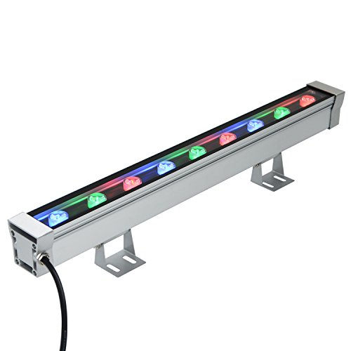 RSN LED Linear Bar Light Wall Washer 9W Colorful RGB Color Stage Lighting Aluminum Alloy IP65 Waterproof