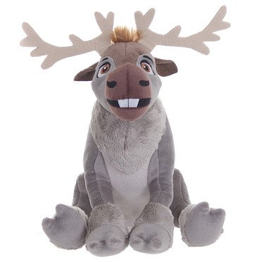 Disney Frozen 19cm Sven The Reindeer Soft Plush Toy