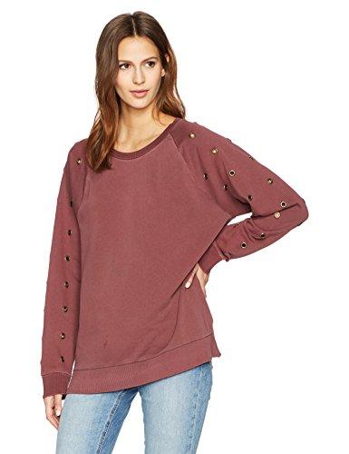 Joe's Jeans Women's Izzy Sweatshirt, Vintage Rouge, L