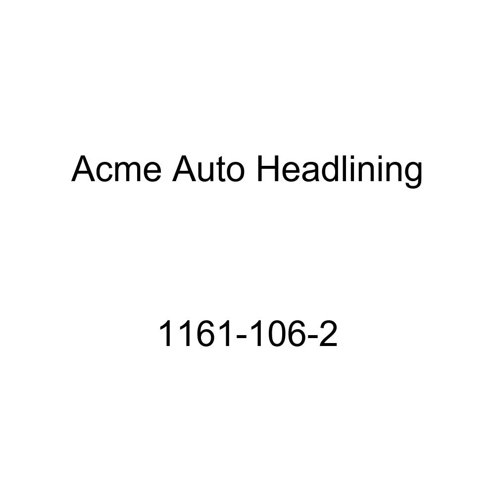Acme Auto Headlining 1161-106-2 Aqua Replacement Headliner 1956 Buick Special 2 Door Sedan 7 Bows