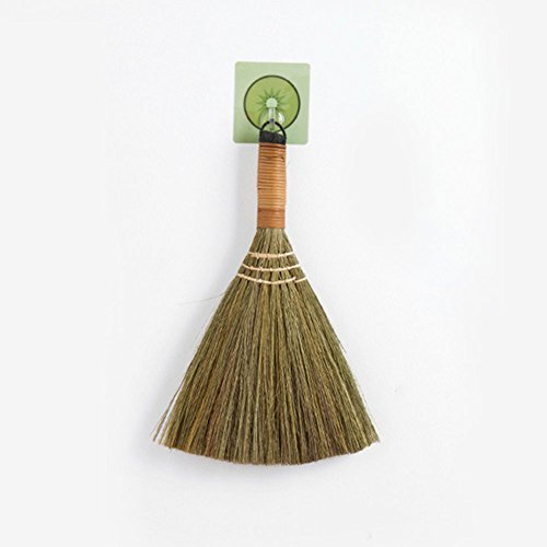 Brooms & Dustpans - Sweeping Straw Braided Broom Soft Durable No Static Useful Housekeeping Floor Cleaning Handmade - With Mini Witch And Broom Laundry Tile Floor Brush & And Broom -