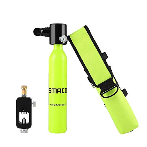 (ZJP-SMACO Diving Equipment Mini Scuba Diving Cylinder Scuba Oxygen Tank and Customized Bag Special Equipment for Diving Enthusiasts (Colore : Mini Oxygen Tank) )