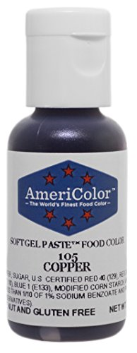 AmeriColor Copper Soft Gel Paste, .75 Ounce - Copper Systems