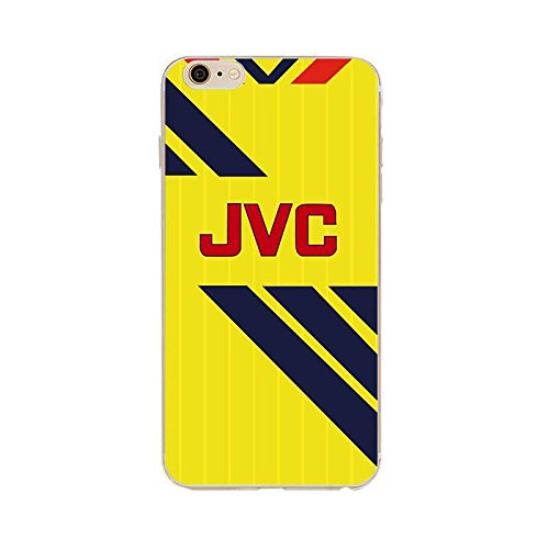 b503a03e245 Arsenal FC Style Away Retro Shirt Kit iPhone 7 & 8 Phone Case Cover:  Amazon.co.uk: Electronics