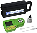 Milwaukee Instruments MA885BOX Digital Refractometer Grape Juice in Protective Padded Hardshell Case