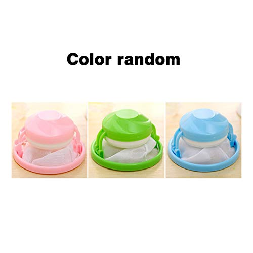 Kongqiabona Flower Shape Mesh Filter Bag Laundry Ball Floating Style Washing Machine Filtration Hair Removal Device House Cleaning Tools