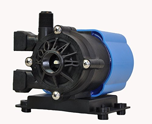 """Magnetic Drive Pressure Pump - KoolAir Pumps PM500-115 Submersible 115 Volt Marine Air Conditioning Seawater Circulation Pump, 500 GPH, 6-Foot Cord, Inlet 3/4"""" FPT x Outlet 1/2"""" MPT, Intertek ETL Safety Compliant"""