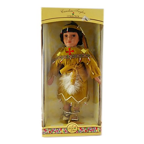 Native American Girl Doll - Caroline Taylor Collection Special Edition Native American Indian Doll 16