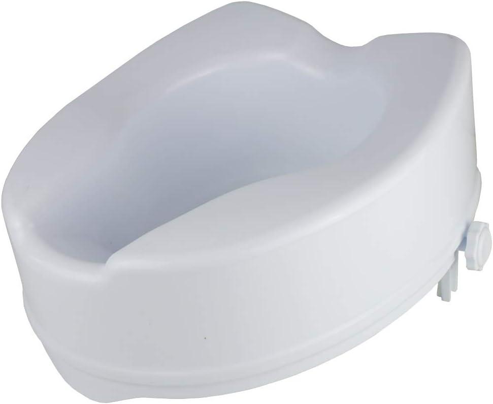 Drive Medical 12067 R/éhausseur WC avec couvercle 15 cm